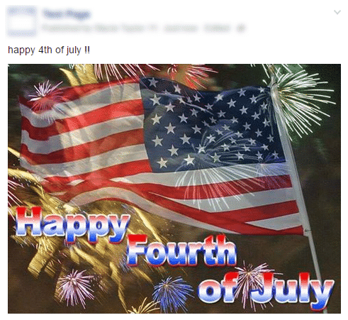 Bad 4th of July Post