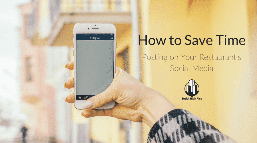 How to Save Time Posting on Social Media