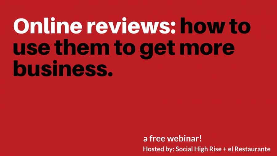 how to use reviews to get more business
